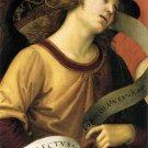 Angel Phylactery ca. religious Christian canvas art print by Raphael