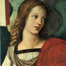 Head of an Angel 1501 religious Christian Jesus bible canvas art print by Raphael