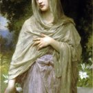 Modestie 1902 Modesty woman canvas art print by William Adolphe Bouguereau