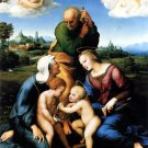 Canigiani Holy Family religious Christian canvas art print by Raphael