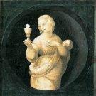Cardinal Virtues Faith religious Christian canvas art print Raphael