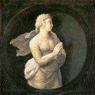 Cardinal Virtues Hope religious Christian canvas art print by Raphael