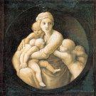 Cardinal Virtues Charity religious Christian canvas art print Raphael