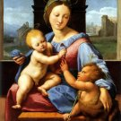 Garvagh Madonna 1510 Aldobrandini Bible canvas art print by Raphael