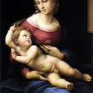 Madonna and Child After Raphael Christian canvas art print by Raphael