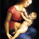 Madonna d'Orleans Christian Jesus bible canvas art print by Raphael