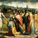 Pasce oves Meas or Christ's Charge to Peter canvas art print Raphael