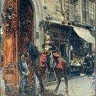 The Dispatch Bearer 1879 cityscape canvas art print by Giovanni Boldini