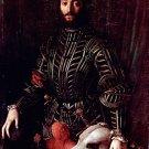 Portrait of Guidobaldo II della Rovere 1532 man canvas art print by  Agnolo Bronzino