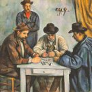The Card Players 1892 men canvas art print by Paul Cezanne