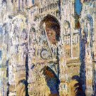 Cathedral of Rouen cityscape canvas art print by Claude Monet