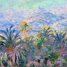 Palm Trees at Bordighera 1884 landscape canvas art print by Claude Monet