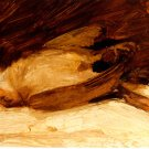 The Dead Sparrow 1905 bird wild animal canvas art print by Franz Marc