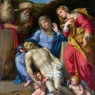 The Lamentation Christ Christian canvas art print by Domenichino