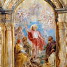 The Glorification of the Eucharist Christian canvas art print Rubens