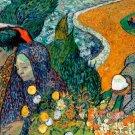 Memory of the Garden at Etten landscape canvas art print by Vincent van Gogh