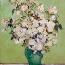 Roses 1890 still life flowers garden canvas art print by Vincent van Gogh