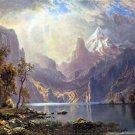 Lake Tahoe California Nevada American West water landscape canvas art print by Albert Bierstadt