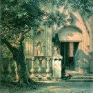 Sunlight and Shadow canvas art print by Bierstadt