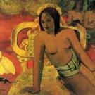 Vairumati women canvas art print by Paul Gauguin