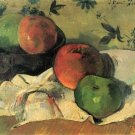 Still life canvas art print by Paul Gauguin