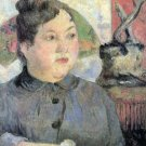 Madame Kohler woman portrait canvas art print by Paul Gauguin