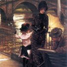 Richmond on the Thames canvas art print by Tissot