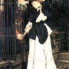 The Farewell woman canvas art print by Tissot