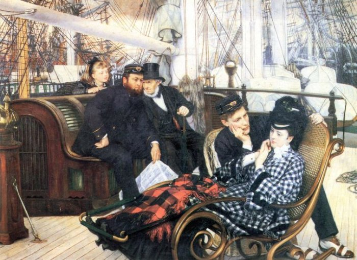 The Last Evening canvas art print by Tissot