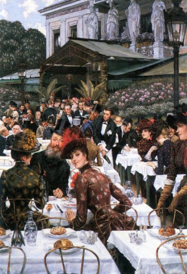The Women of the Artist canvas art print by Tissot