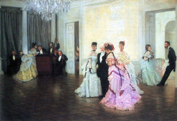Too Soon women canvas art print by Tissot