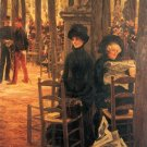 Without Aussteuer women canvas art print by Tissot