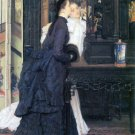Young Women with Japanese Goods canvas art print by Tissot