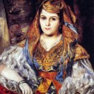 Algerian Woman 1870 canvas art print by Pierre-Auguste Renoir