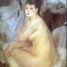 Female woman canvas art print by Pierre-Auguste Renoir
