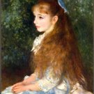 Irene Cahen d'Anvers 1879 Little Irene girl canvas art print by Pierre-Auguste Renoir