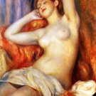 Sleeping Bather 1897 woman canvas art print by Pierre-Auguste Renoir