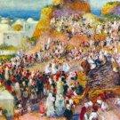 The Mosque Arabian Fest cityscape canvas art print by Pierre-Auguste Renoir