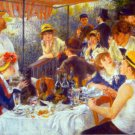 The Luncheon women men genre canvas art print by Pierre-Auguste Renoir