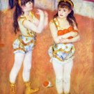 The circus Fernando girls canvas art print by Pierre-Auguste Renoir