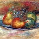Still Life I fruits canvas art print by Pierre-Auguste Renoir