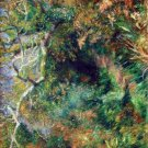 Landscape in Southern France trees forest country canvas art print by Pierre-Auguste Renoir