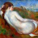 Reclining woman 1890 canvas art print by Pierre-Auguste Renoir