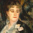 Portraits of Mme Charpentier 1877 woman canvas art print by Pierre-Auguste Renoir