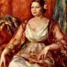 Portrait of Tilla Durieux 1914 woman canvas art print by Pierre-Auguste Renoir