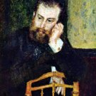 Portrait of the Painter Alfred Sisley 1876 man canvas art print by Pierre-Auguste Renoir