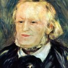 Portrait of Richard Wagner 1882 music composer man canvas art print by Pierre-Auguste Renoir