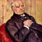 Portrait of Paul Durand Ruel 1910 man canvas art print by Pierre-Auguste Renoir