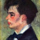 Portrait of Georges Riviere 1877 man canvas art print by Pierre-Auguste Renoir