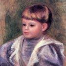Philippe Gangnat 1906 Portrait of a Child boy canvas art print by Pierre-Auguste Renoir